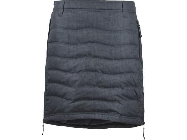 SKHoop W's Short Down Skirt Grey Pattern